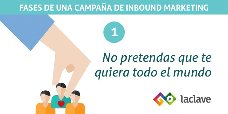 Fase 1 de una campaña de inbound marketing: definir público
