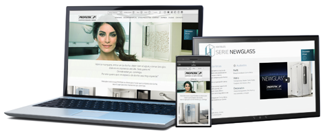 Diseño y programación en drupal para la nueva web de PROFILTEK de laclave creación