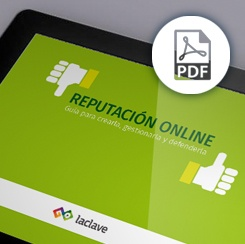 ebook Reputación online de LACLAVE