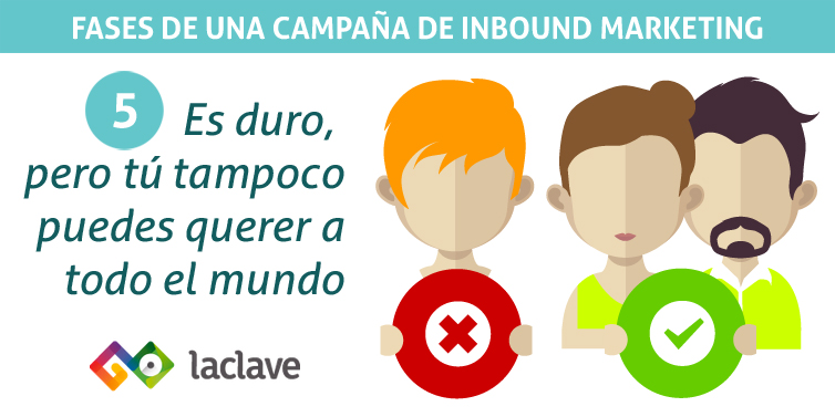 Fase 5 campaña inbound marketing: convertir para segmentar